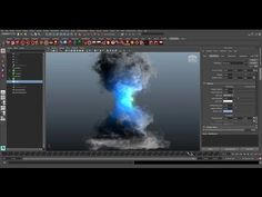 CGI Tutorial HD: Create a Tornado using Maya Fluid by khalil khalilian - YouTube