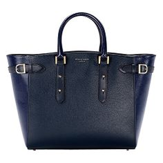 Buy Aspinal of London Marylebone Leather Tote Handbag Online at johnlewis.com