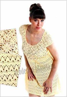 Мобильный LiveInternet Летние ажурные платья (вязание крючком). Подборочка. | VezunchikI - Мой маленький мир |