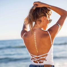 Geo Gold Pack.  Gold Tattoo. Temporary Metallic Tattoo. Jewelry Influenced. Metallic Tatts In a Flash!