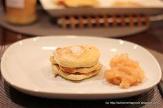 Apfel-Quark-Pfannkuchen mit selbstgemachtem Apfelkompott - Schöner Tag noch! Food-Blog mit leckeren Rezepten für jeden Tag
