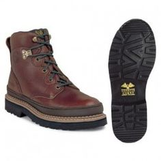 Protect your feet with style using women's steel toe boots womens steel toe boots georgia womens steel toe giant work boots - soggy brown YMUBJIB Steel Toe Boots Women, Composite Toe Boots, Half Shoes, Steel Toe Work Shoes, Georgia Boots, Mid Calf Boots, Cheap Shoes, Hiking Boots, Footwear