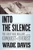 Want to know the fact behind the fiction in #AboveAllThings, try 'Into the Silence' for a non-fiction re-counting of #GeorgeMallory's #Everest ascent. #PassTheBook