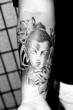 spiritguide:  Starasian Tattoo Art - Paul Buddha (via starasian-tattoo)