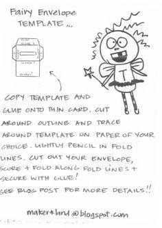 Mini Envelopes Tooth Fairy Envelope Fairy Envelopes Extra Tiny