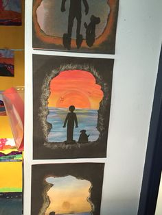 But could be desert island? Class Displays, School Displays, Classroom Displays, Classroom Ideas, Kensukes Kingdom, 7 Elements Of Art, Visual Art Lessons, Island Crafts, Kindergarten Morning Work