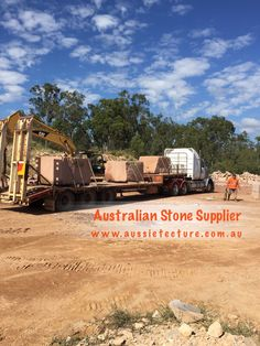 Aussietecture natural stone supplier has a unique range natural stone products for walling, flooring & landscaping. Sandstone Cladding, Natural Stone Cladding, Sandstone Paving, Stone Supplier, Logs, Exterior Design, Natural Stones, Outdoor Living, Garden Design