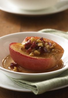 Satisfy your sweet tooth with this Easy Baked Apples recipe—a delicious dessert that's ready to enjoy in just 10 minutes.