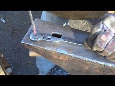 Blacksmithing Forging A Nail Header And Making Some Nails