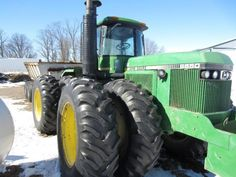 1983 John Deere 8650 Tractor - ONLINE ONLY AUCTION Ending March 23, 2015 - Cornell, Wisconsin.