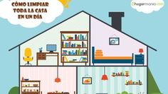 Cómo limpiar la casa Diy Cleaning Products, Cleaning Hacks, Merida, Home Organisation, Home Hacks, Clean House, Ideas Para, Home Kitchens, Infographic