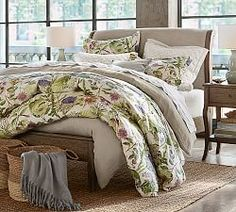 Upholstered Beds & Fabric Headboards | Pottery Barn