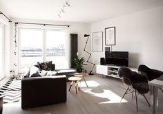 Appartamento in stile nordico a Varsavia