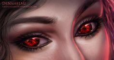 Ruby eyes by denahelmi