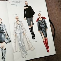 How to Draw Fashion Figures - Fashionista Sketch
