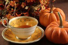Autumn Tea....beautiful pic.