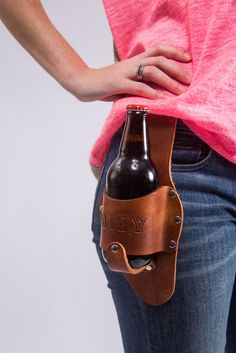 The Luckenbach Beer Holstar | Holstar | Bourbon  Boots #beer #beerholster