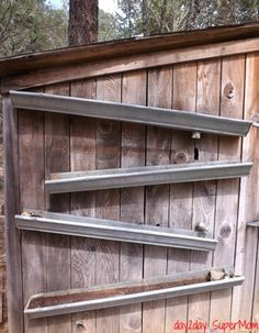 Marcy blogs atDay2Day Supermom. When she spotted a lettuce garden made from gutters on Pinterest, Marcy immediately thought of the old gutters lying out behind her husband's shop. Instead of let...