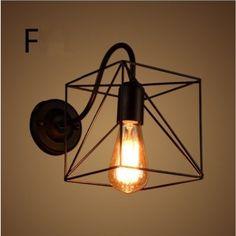 壁掛け 壁付け照明 ランプシェード おしゃれ カフェ風 レトロ 北欧 照明 アンティーク ブラケット ウォールライト jp-one-shopping 05