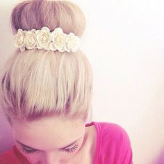 Image in girly collection by ~star~ on We Heart It Love Hair, Gorgeous Hair, Beautiful, Bad Hair, Hair Day, Pretty Hairstyles, Braided Hairstyles, Hairstyle Ideas, Glamour