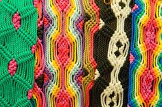woven bracelets from Mexico