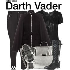 Star Wars by wearwhatyouwatch on Polyvore featuring MuuBaa, Alexander McQueen, maurices, Office, Forzieri, wearwhatyouwatch, film, Maythe4thbewithyou and maythe4th