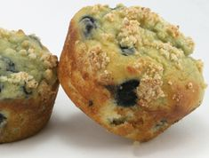 Low Carb Bakesquick™ Bakery-Style Blueberry Cream Muffins