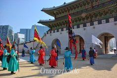 Visitando Corea Crucero Asia 2014