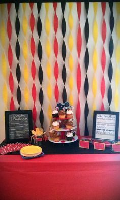 Mickey Mouse Clubhouse Birthday party via http://onehappymommyblog.blogspot.com