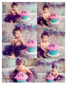 cake smash. Kids first birthday shoot, pose, studio shoot,   https://www.facebook.com/NidsCreations
