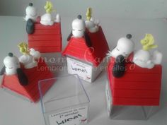 Snoopy em biscuit – Simone Lembrancinhas
