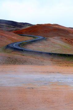Lonesome Road near Akureyri, Iceland | Fantasy Road Trip | Road Trip | road | roads | road photo | on the road | drive | travel | wanderlust | landscape photography | Schomp MINI