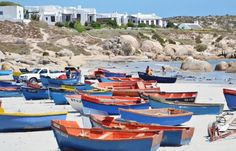 Visit the small fishing-village close to Cape Town, Paternoster. Wonderful!