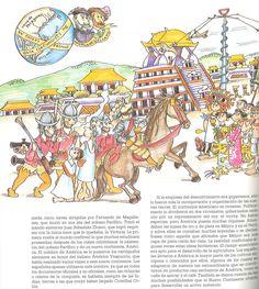 Historia de España de Roser Ortiz Gros; dibujante Pilarín Bayés. Publicado por Edibook, 1989.