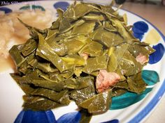 Southern Style Collard Greens recipe from  http://ThisSillyGirlsLife.com