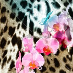 Leopard Skins With Roses