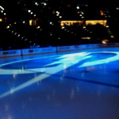 Tampa Bay Lightning ice