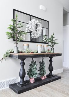 Thanks to Kirklands for providing the entryway console table. This post contains Entryway Decor Ideas Console Entryway Kirklands post providing Table Entryway Console Table, Entryway Decor, Rustic Entryway, Entryway Ideas, Hallway Ideas, Foyer Table Decor, Rustic Console Tables, Entryway Closet, Flur Design