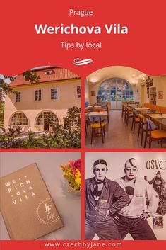Werichova Villa is a hidden gem on Kampa island, that features the best of the Czech culture, that is humour, interesting history and the sweet cakes. Yoga Classes, Interesting History, Prague, Attic, Cinema, Culture, Cakes, Explore, Garden