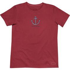 Life Is Good Smile Aweigh Anchor Shirt. #LifeIsGood