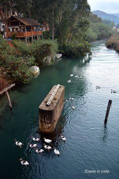 """seenincrete: """" Potamos river, Georgioupolis """""""