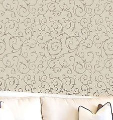 Wall painting stencils: amazing wall stencils, stencil designs, stencils for walls. Cutting Edge Stencils.