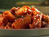 Chicken Sausage Rigatoni in Spicy Vodka Sauce from Sunny Anderson