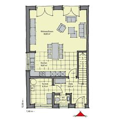 doppelhaus grundriss eingang seitlich architektur pinterest architecture and house. Black Bedroom Furniture Sets. Home Design Ideas