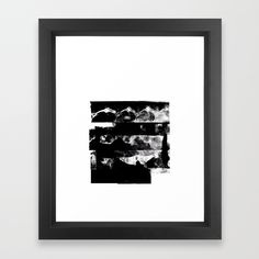 Buy Stacked - Abstract Black and White Framed Art Print by lostmarketplace. Worldwide shipping available at Society6.com. Just one of millions of high quality products available.