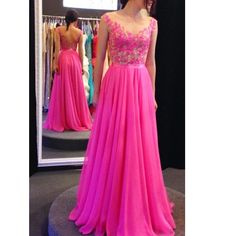 Fashionable Dress For Prom Long To Floor Prom Dresses pst0675