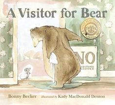 A Visitor for Bear (Bear and Mouse, #1) by Bonnie Becker / 9780763628079