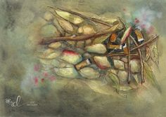 Detritus Series 1 Watercolour