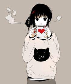 Spazzytoaster anime pixiv cute fanart manga girl ute style nice smile i like you