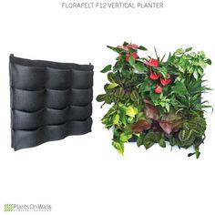 Vertical Garden Planter - Florafelt 12 Pocket